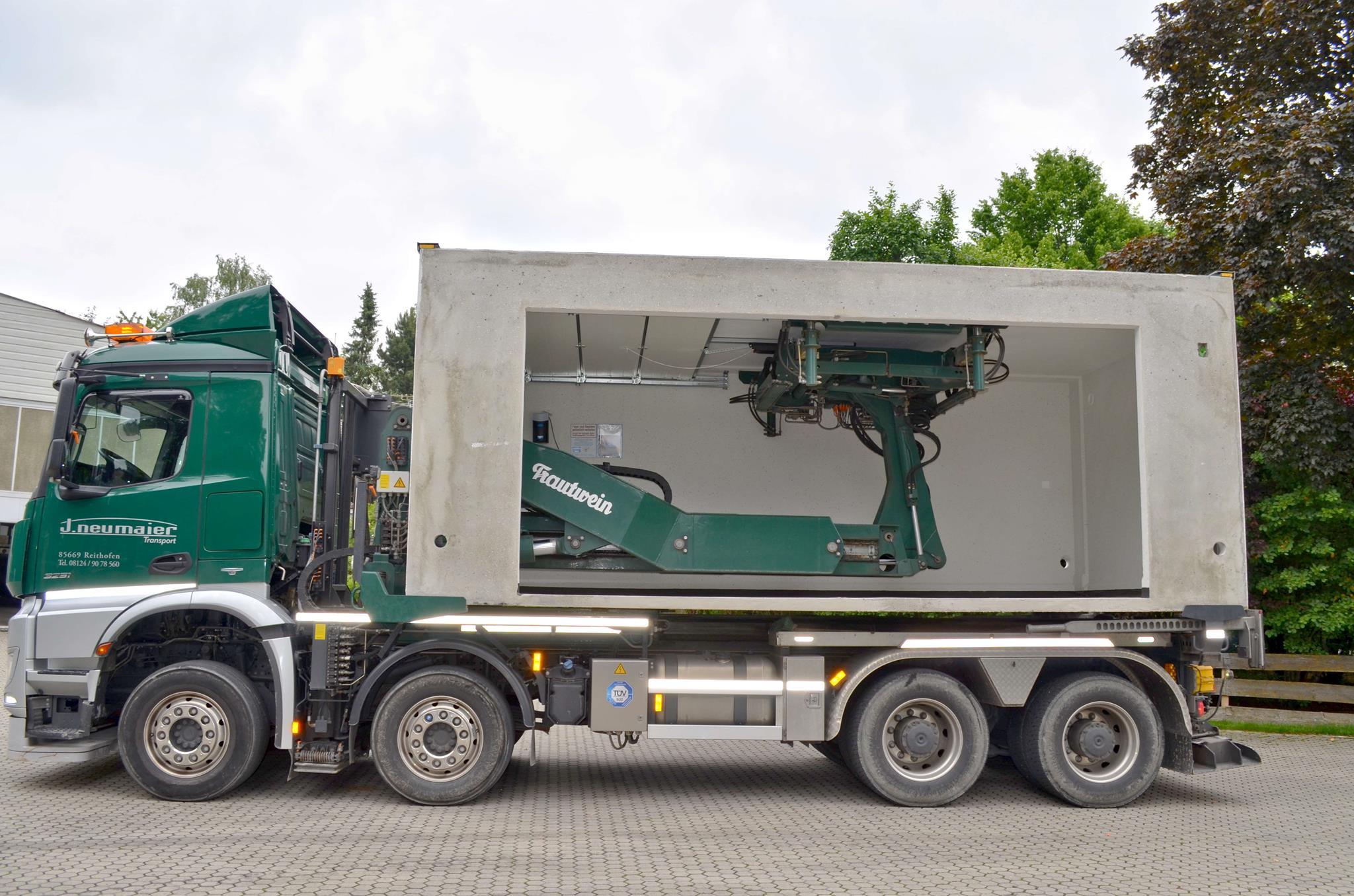 Relativ Garagentransport GmbH - Neumaier Transport GmbH, Lindacher Weg 6 XM12