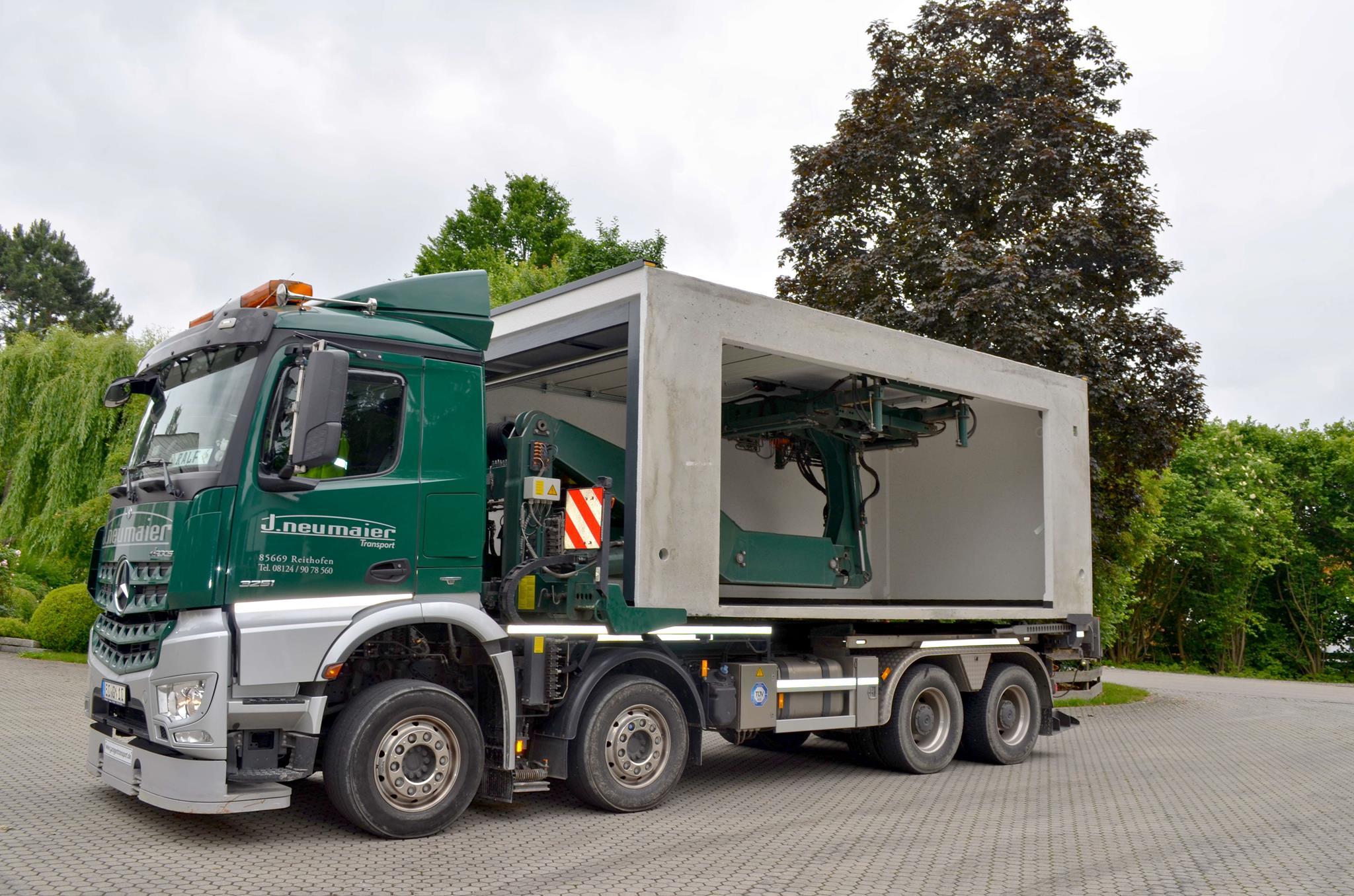 Wir Befördern Neue Garagen Von Verschiedenen Herstellern, Außerdem  Versetzen Wir Auch Gebrauchte Garagen An Einen Neuen Standort.